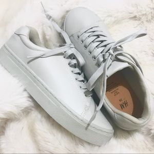 H&M Monochromatic Gray Sneakers